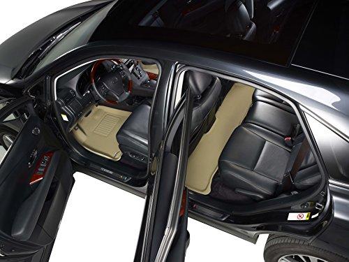 Nylon Carpet Coverking Custom Fit Front Floor Mats for Select Nissan Quest Models Black