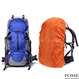 Cheap Hiking Daypack, iDeep 45L+5L Unisex Camping Backpack Outdoor Sport Nylon Water-resistant Internal Frame Hiking Backpack Bag with Rain Cover for Adult Climbing Travel Mountaineering