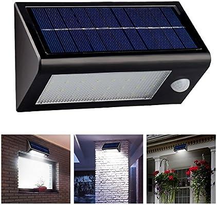 Goes Well Farol solar LED fría Solar Foco Solar Jardín Lámpara de exterior para jardín innenhöfe Terrazas fahrbahnen höfe: Amazon.es: Iluminación