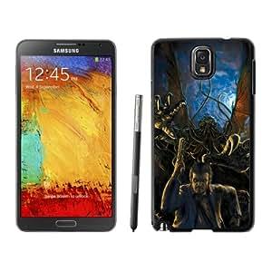 Fashionable Designed Cover Case For Samsung Galaxy Note 3 N900A N900V N900P N900T With Escaping From The Cthulhu Fantasy Mobile Wallpaper Phone Case