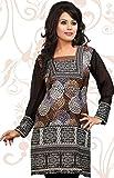 Indian Tunic Top Womens Long Kurti Blouse India Clothes