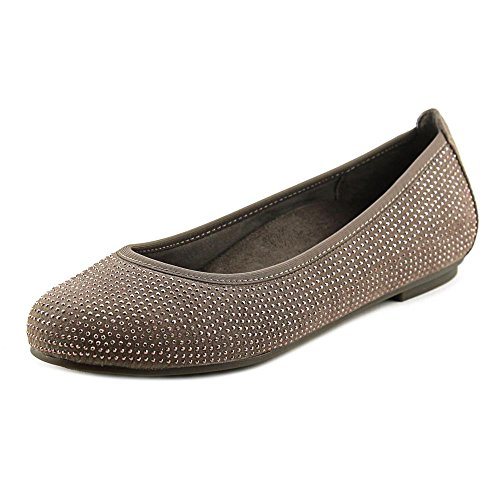 VIONIC Women's Spark Willow Ballet Flat Taupe Flat