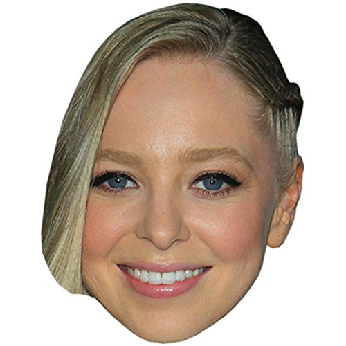 Portia Doubleday Celebrity Mask, Card Face and Fancy Dress Mask