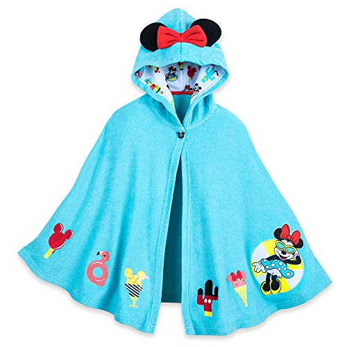 Disney Minnie Mouse Summer Fun Swim Cover-Up for Girls - Size L (10) Blue