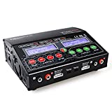 [Upgrade] Keenstone UP120AC 240W Duo Dual 2 Port (2x 12Amps, 2x 120Watts) AC/DC Balancing Battery Multi-Chemistry Multicharger for LiPo LiHV Li-ion LiFe NiCd NiMh Pb with 300Watt Power Supply