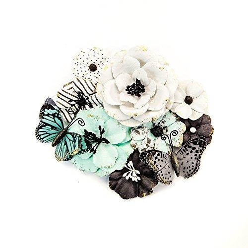Prima Marketing Floral Embellishments - Prima Marketing Inc. 634476 Flirty Fleur Flowers, Multicolored