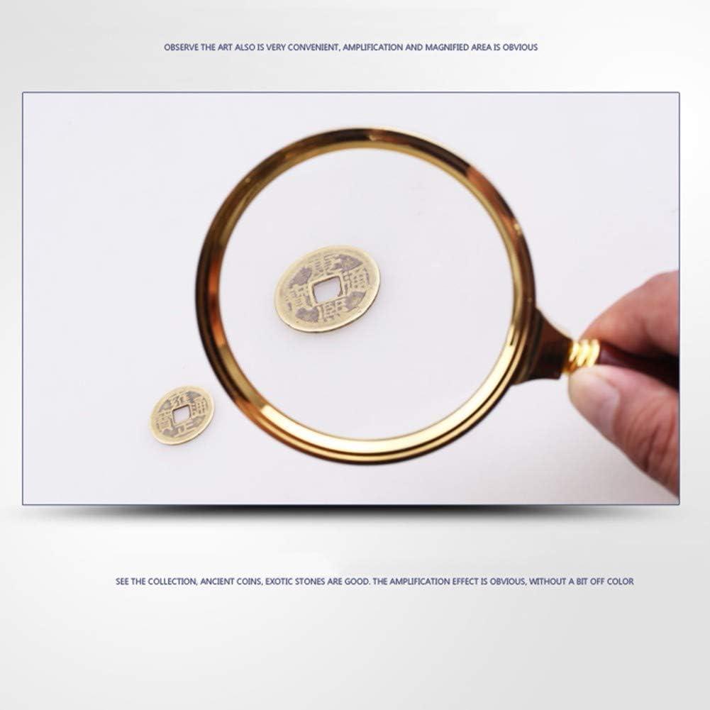X10 X20 X30 Zuzer 6pcs Loupe de Poche Pliable,Portable Loupe Petite Loupe Portable pour L/'inspection Les Bijoux Pi/èces de Monnaie Timbres