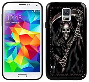 2015 CustomizedGrim Reaper Goth Handmade Samsung Galaxy S5 Black Case