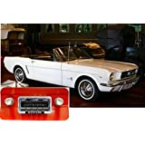1964-1966 Ford Mustang USA-630 II High Power 300 watt AM FM Car Stereo/Radio with iPod Docking Cable by Custom Autosound