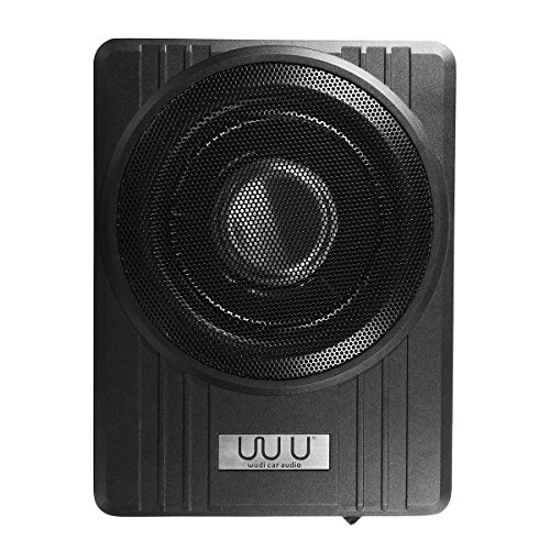 Price comparison product image 10 Inch 12V 600W Black Ultra-Thin Under-Seat Car Active Subwoofer Speaker - Car Electronics Car Speakers - 1 X Speaker