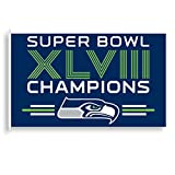 Seattle Seahawks Official NFL 3' x 5' Banner Flag