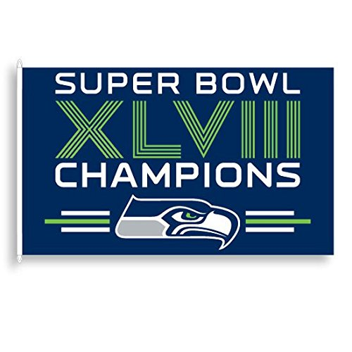 Seattle Seahawks Official NFL 3' x 5' Banner Flag by WinCraft