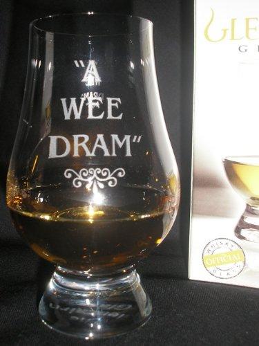 OFFICIAL GLENCAIRN WEE DRAM SINGLE MALT SCOTCH WHISKY TASTING GLASS