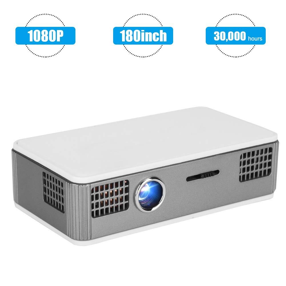 Diyeeni Mini proyector,Inteligente Portátil,Conección WiFi ...