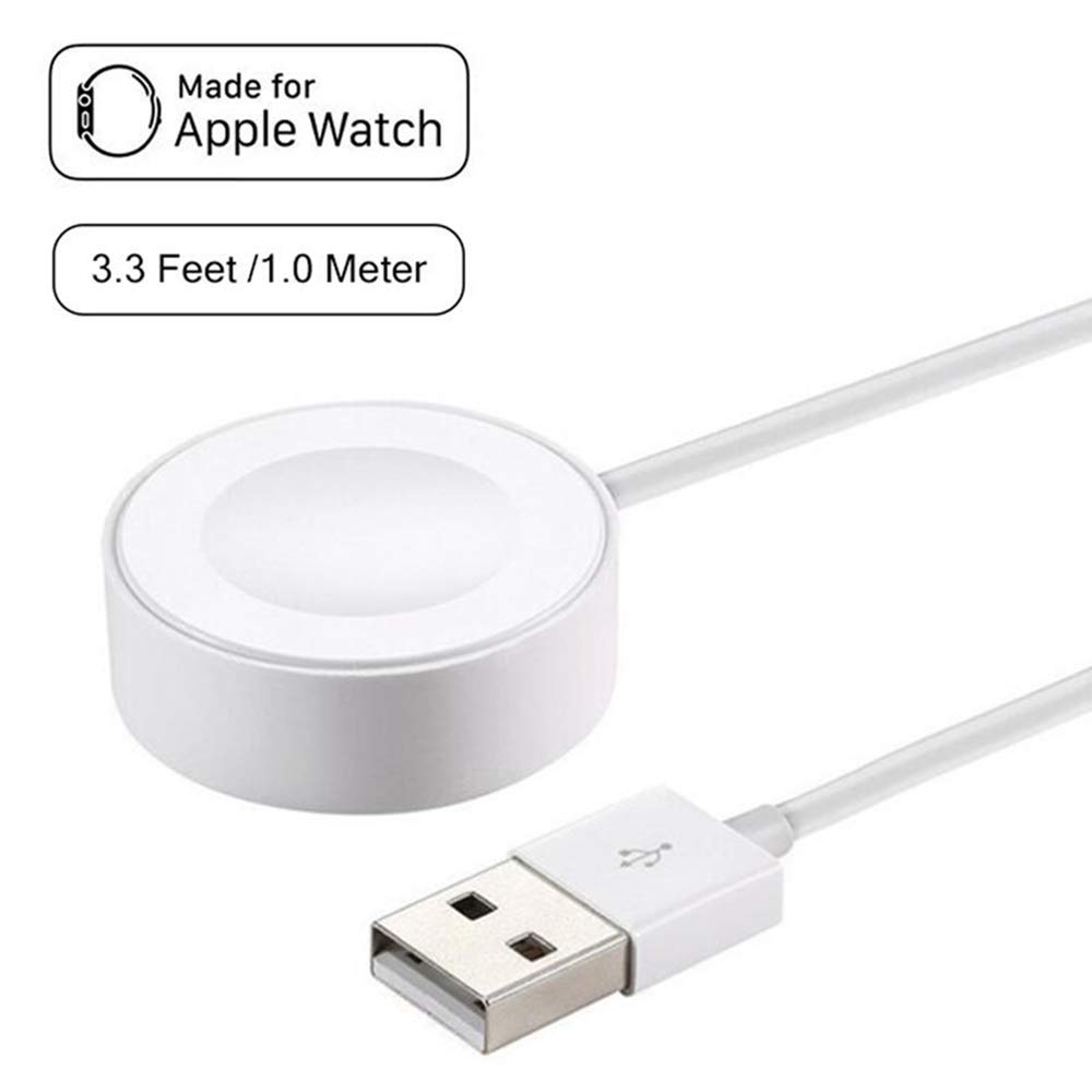 iWatch Charger Charging Cable,Apple Watch Charger,Magnetic Charging Cable Compatible for Apple Watch,iWatch Magnetic USB Charging Cable/Cord Compatible for 38mm & 42mm Series iWatch 1/2/3 (1m/3.3ft)