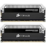 Corsair DOMINATOR Platinum Series 16GB (2 x 8GB) DDR3 DRAM 2400MHz PC3 19200 C10 Desktop Memory Kit CMD16GX3M2A2400C10
