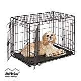 Dog Crate | MidWest ICrate 30 Inch Double Door Fol...