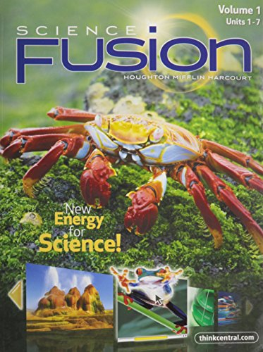 ScienceFusion: Student Edition Interactive Worktext Collection Grade 5 2012