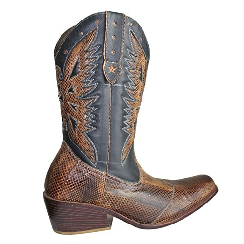 in only 11sunshop Model Python Customized and Leather Farrel EU 33 Lon by 44 Boots a11xqHO