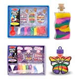 Melissa & Doug Sand Art Craft Kits Set - Bottles and Pendants