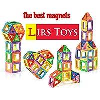 LIRS TOYS 30-pcs: Magnetic Blocks, Magnetic Tiles,...