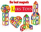 Best Other Toys For 12-18 Months - Lirs TOYS 30-pcs: Magnetic Blocks, Magnetic Tiles, Building Review