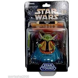 Walt Disney Stitch Master Jedi Yoda Star Wars Weekend Star Tours Collectible Figure - Brand New in Mint Condition!!