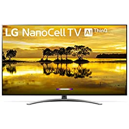 LG 65SM9000PUA Nano 9 Series 65″ 4K Ultra HD Smart LED NanoCell TV (2019), Black