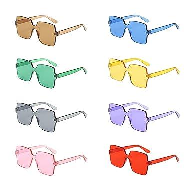 9b78e59a956 Amazon.com  Alonea Candy Color Sunglasses