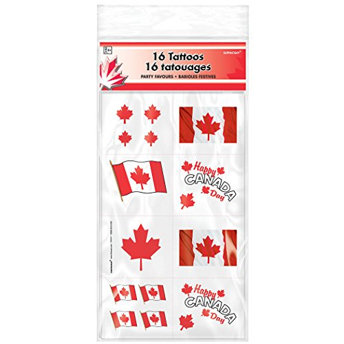 Canada Day Tattoos  16 Ct