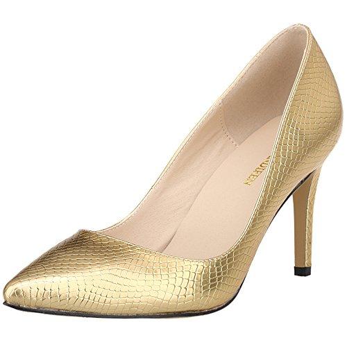 Zeppa Donna Sandali Gold NKL952 con Dethan 1XEYYDethan qSXHHI