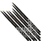 Vic Firth American Classic 5B Black Value Pack – Buy 3PR, Get 1PR FREE!
