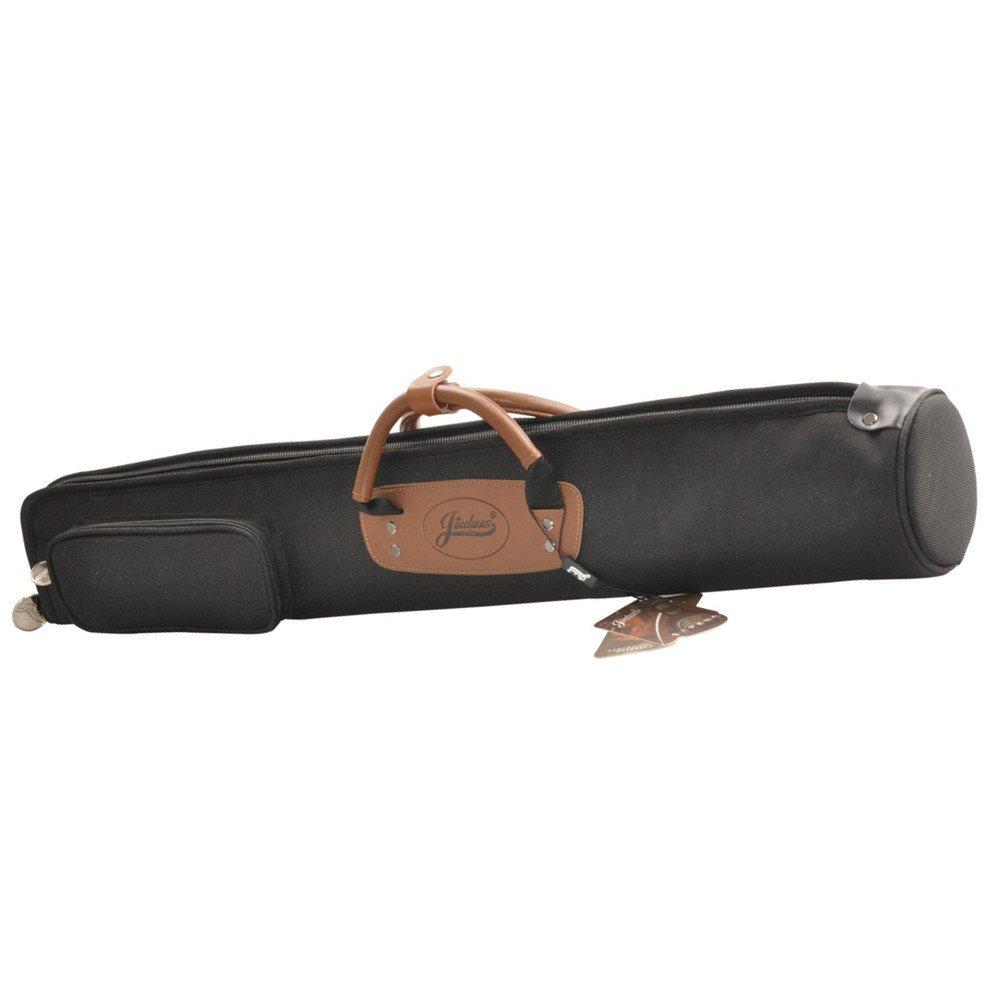 Jinchuan Portable Clarinet Bag Oboe Gig Bag Soft Case Soft Cotton Padded E-8A Black