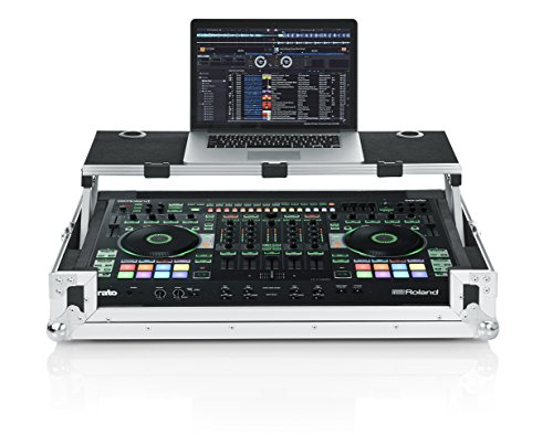 Gator Cases G-TOURDSPDJ808 Road Case for Roland DJ Controller with Sliding Laptop Platform by Gator
