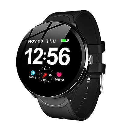 ZKLG LEMFO V12 Smart Watch Blood Pressure Oxygen Activity ...