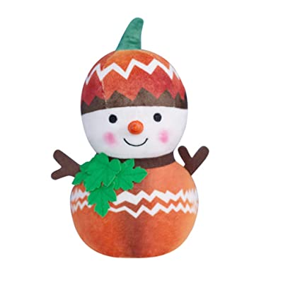 STOBOK Christmas Plush Snowman Doll Stuffed Toy Figurine Gift Desktop Ornament Pendantfor Kid Christmas Tree Xmas Festive Decorations Hanging Season Theme - Autumn: Office Products