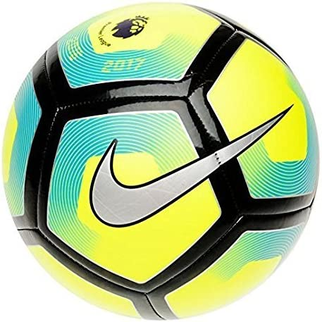 Nike Pitch Premier League Football 2017 - Size 5 - Yellow/Blue by ...