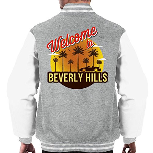 Beverly Grey Men's Welcome To Heather Varsity Coto7 White Hills qHE60Y