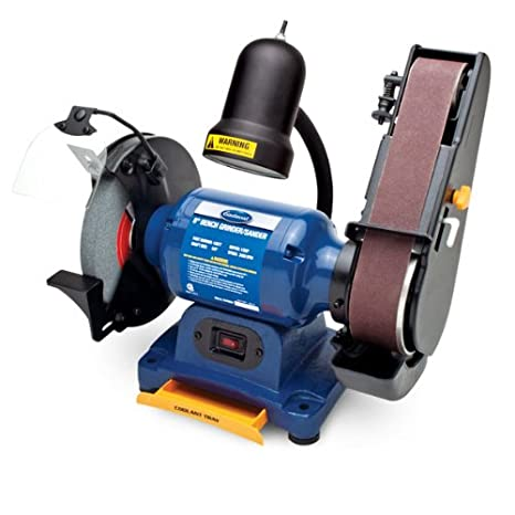Peachy Eastwood 1 2 Hp 8In Combination Bench Grinder Belt Sander Sharpener Linisher Electric Sanding Grinding Machine With Aluminum Oxide Grinding Wheel Creativecarmelina Interior Chair Design Creativecarmelinacom