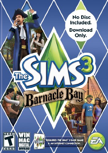 The Sims 3: Barnacle Bay [Download Code only, No disc included] - PC/Mac