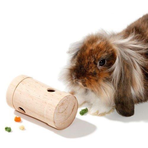 Karlie Rody Snack Roll Geschicklichkeitsspielzeug für Kleintiere, Spielzeug für Hasen