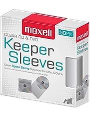 Maxell 190150 CD/DVD Keeper Sleeves (50 pk)
