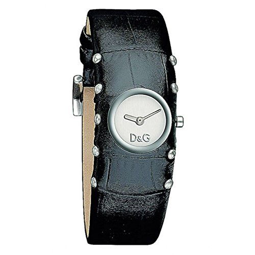 D&G Dolce & Gabbana Women's DW0351 Stainless Steel Analog with White Dial Watch