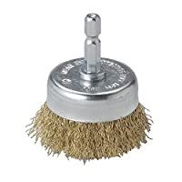 Mercer Industries Crimped Cup Brushes Stainless Steel Wire