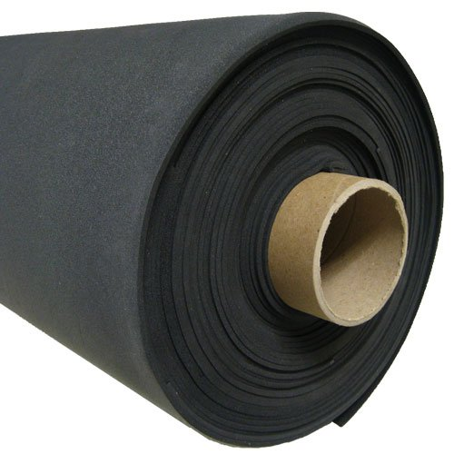 SPONGE NEOPRENE ROLL PLAIN 3/8 IN. X 54 IN. X 25 FT.