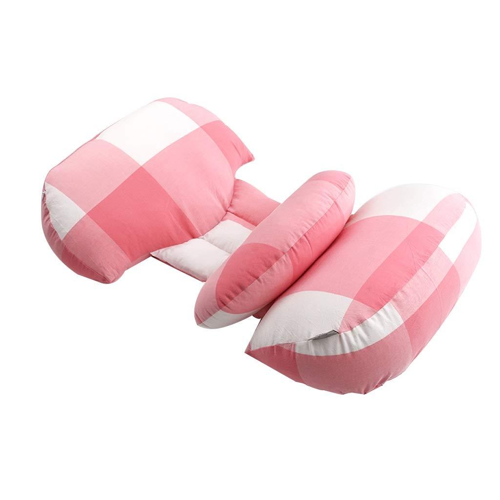 Unbekannt AUSTBEI Baumwolle Faser stillen Kissen Mutterschaft Kissen einstellbar multifunktions abnehmbare Reinigung unterstützung Kissen Vier Jahreszeiten (Farbe : B)