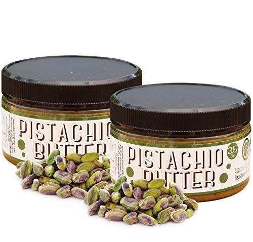 Nutty Novelties Pistachio Butter - High Protein Pistachio Butter - All-Natural, Cholesterol-Free Pistachio Nut Butter - Gluten-Free, Vegan Pistachio Cream Butter - No Added Sugar - 7 Ounces