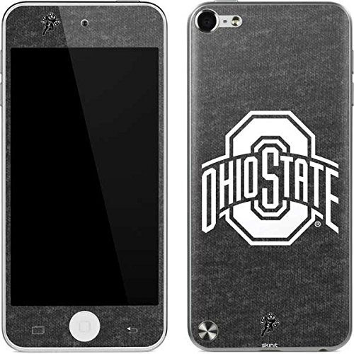 Ohio State University iPod Touch (5th Gen&2012) Skin - OSU Ohio State Grey Vinyl Decal Skin For Your iPod Touch (5th Gen&2012) (Ipod Touch 5 Cases Ohio State)