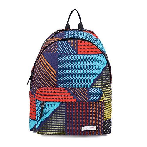 MUFUBU Presents KAKA Stylish Waterproof Colorul Backpack for Female Teenage Girls, Women