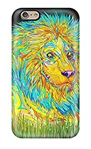 High Quality E-Lineage Trippy Skin Case Cover Specially Designed For Iphone - 6